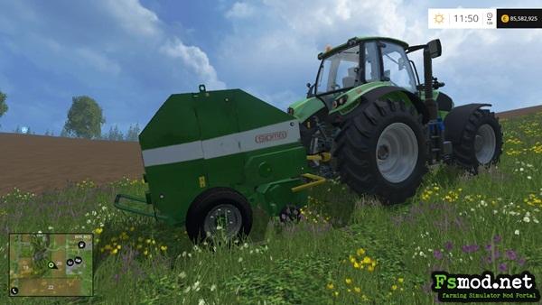 FS15 - Sipma Farma Z276 Baler V2