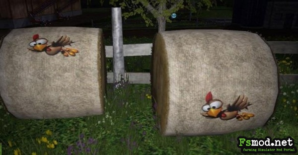 FS15 - Hay and Straw Bales Textures Mod