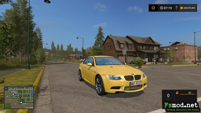 FS17 - BMW M3 E92 Car V1
