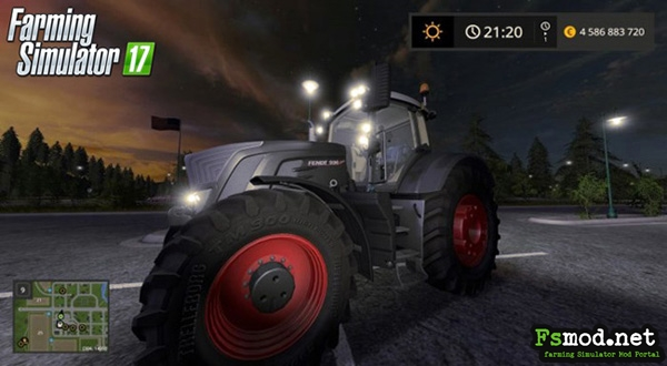FS17 - Fendt Vario 900 Black Beauty Tractor V1