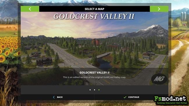 FS17 - Goldcrest Valley II Map V1