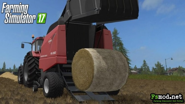 FS17 - KUHN VB 2190 Baler Machine