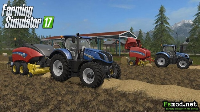 FS17 - New Holland Baler Pack V1