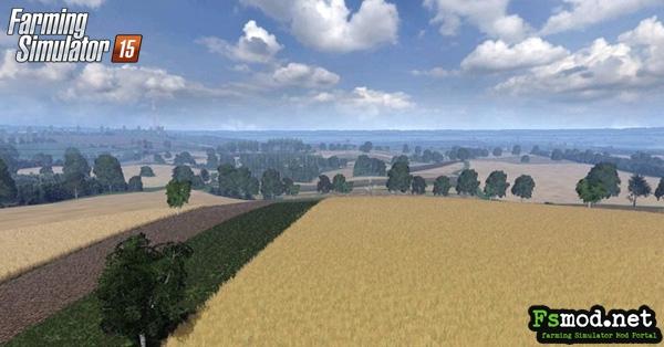 FS15 - Big Poland Farm Map