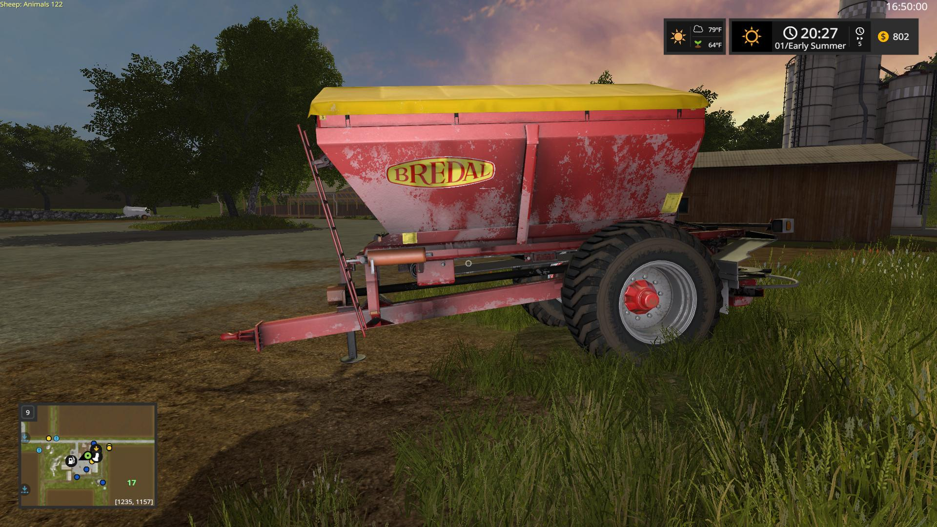 FS17 - Bredal K105 V1.1
