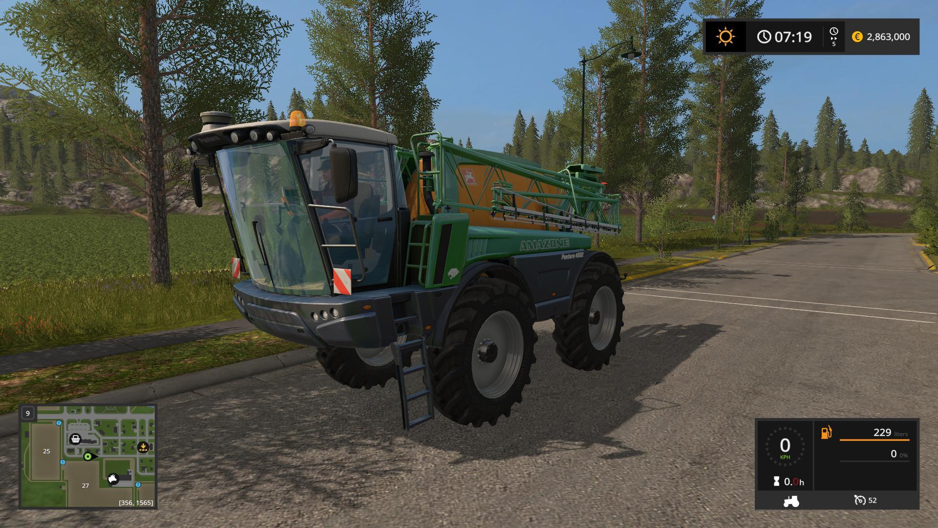 FS17 - Amazone Pantera V1.1