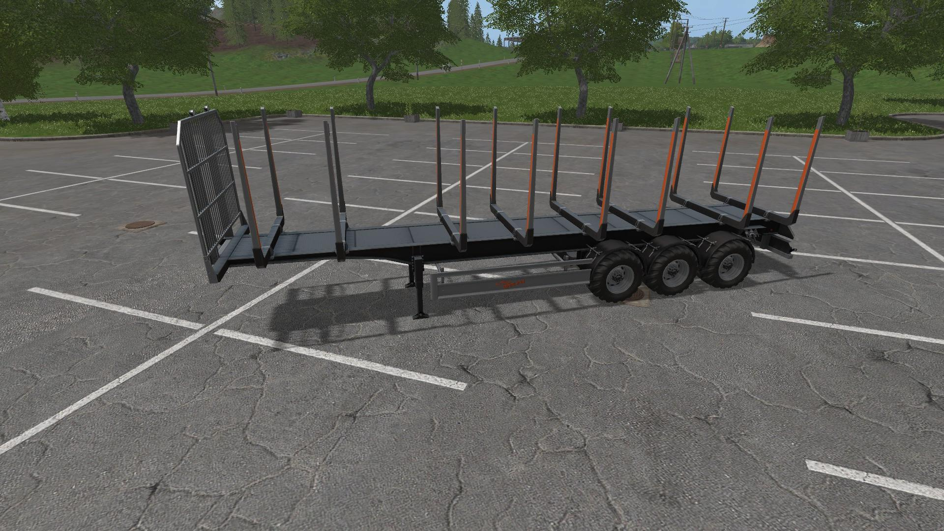 FS15 - Fliegl Timber Trailer V1.0.0.1
