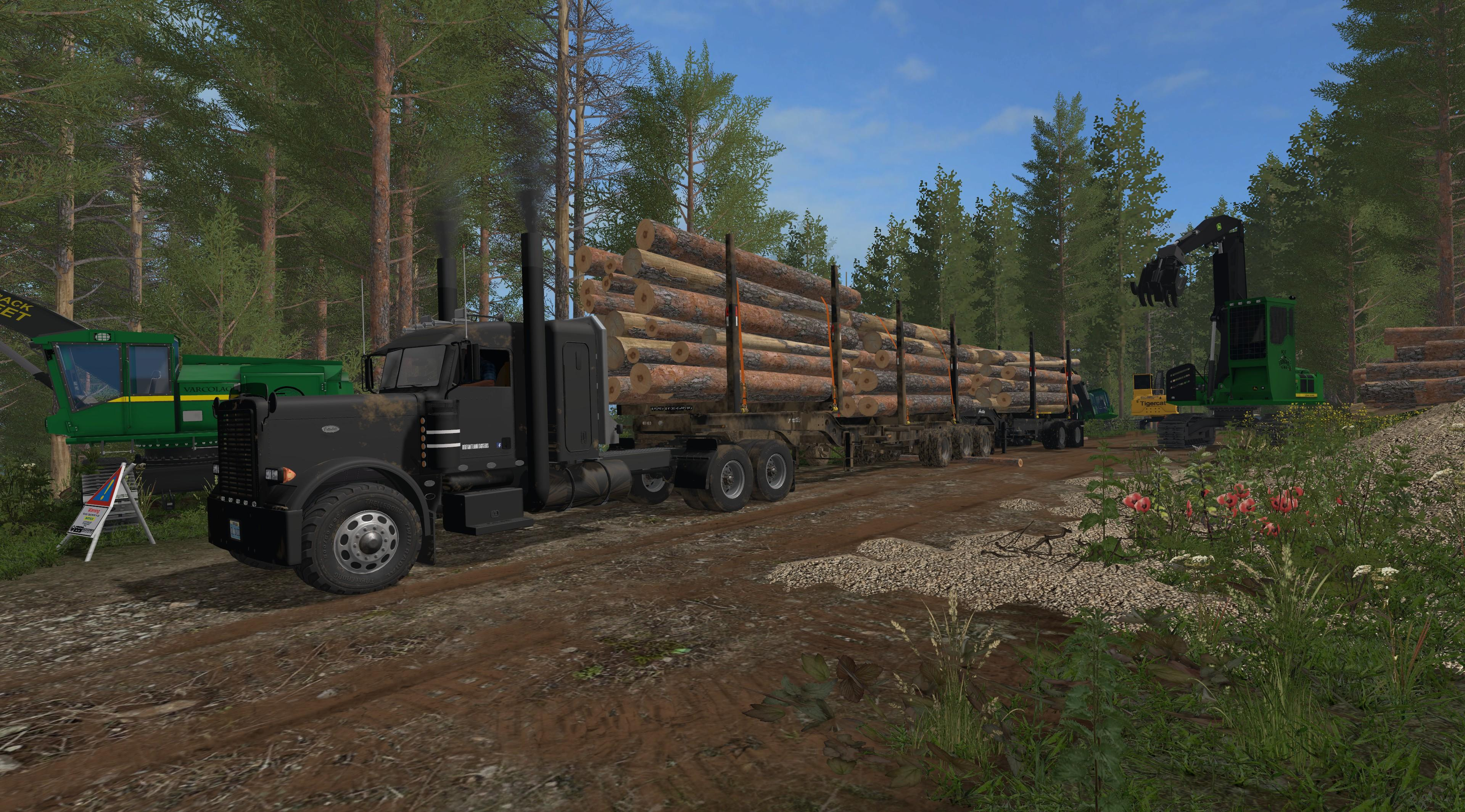 FS15 - Super B Log Trailers V1.0