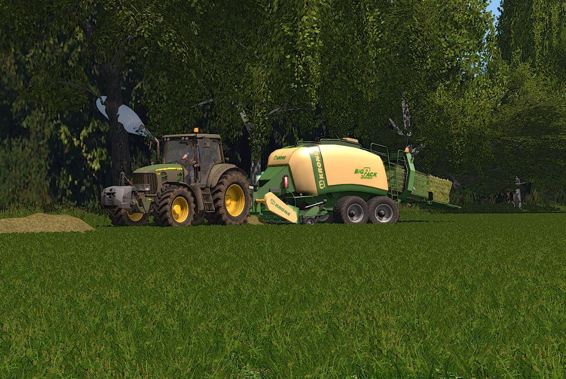FS17 - [Fbm Team] Krone Bigpack 1290 - Knife Attachment - Dh V1