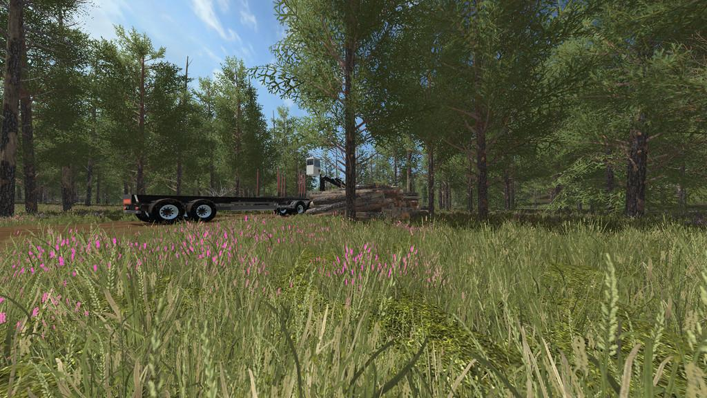 FS15 - Log Trailer V1.1