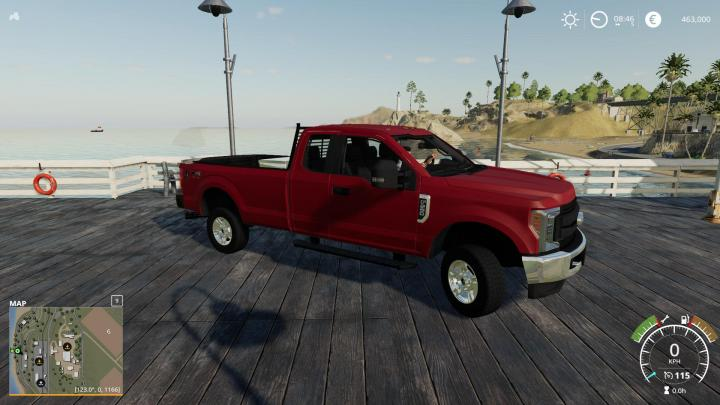 FS19 - 2017 Ford F250 Fixed V2.0