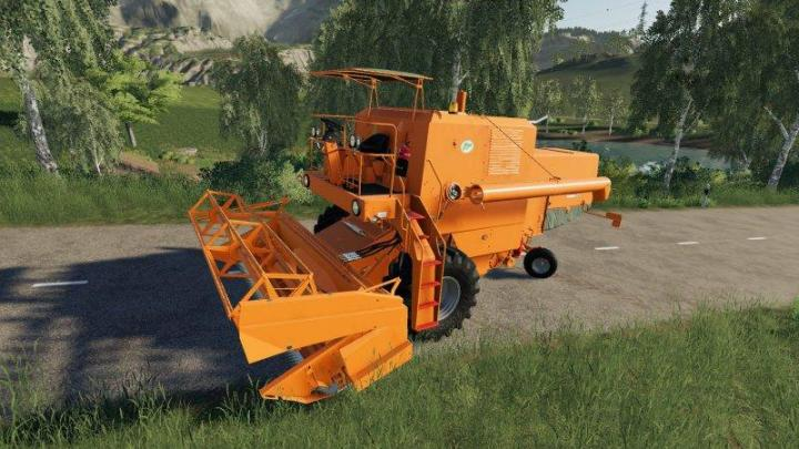FS19 - Bizon Z056 Super Orange V1.1