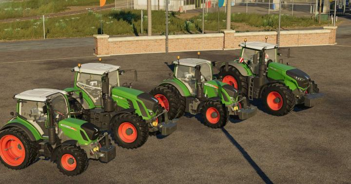FS19 - Fendt Weight Pack V1.0