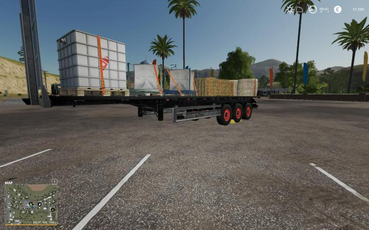 FS19 - Fliegl Sds 350 Trailer V1.0