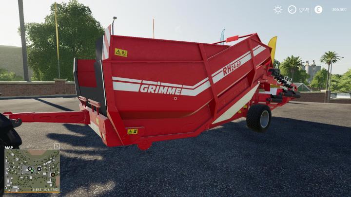 FS19 - Grimme Rh2460 Edit Silage V1.0