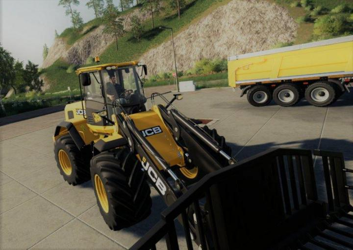 FS19 - Jcb 435S Big Tires V1