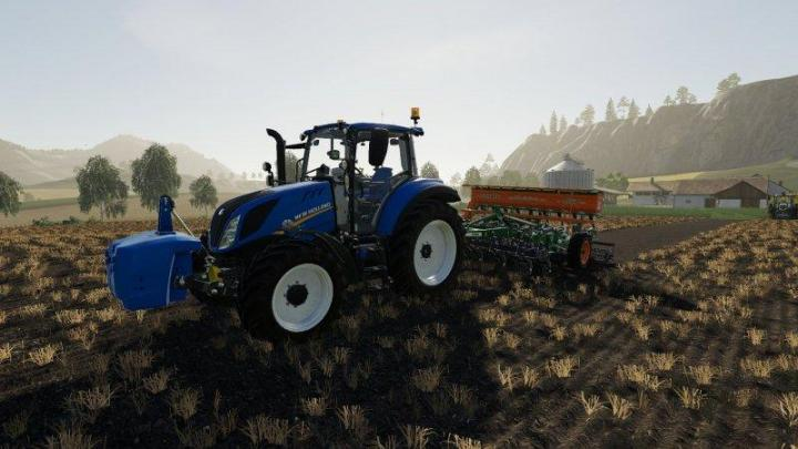 FS19 - New Holland T5 Chip Tunning V1.0