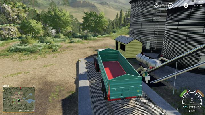 FS19 - Placeable Harvestore Grain Silo V1