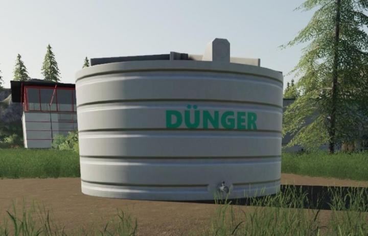 FS19 - Placeable Liquid Fertilizer Tank V1