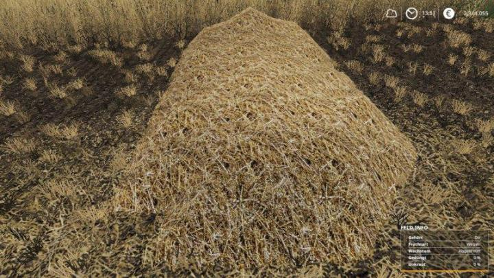 FS19 - Real Straw Texture V1
