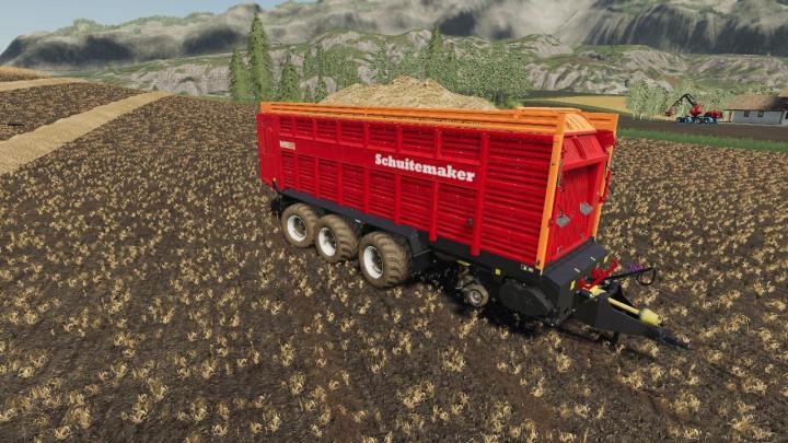 FS19 - Schuitemaker Rapide 8400W 100 Trailer V1.0.1