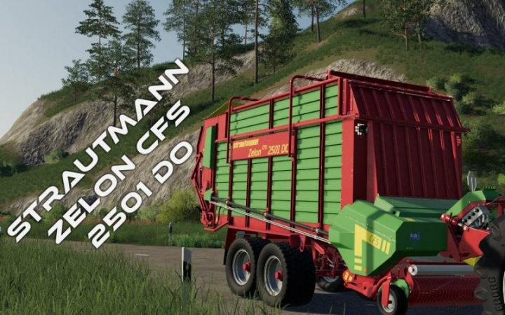 FS19 - Strautmann Zelon Cfs 2501 Do Trailer V1.0