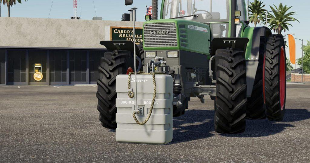FS19 - Suer 800 KG Weight