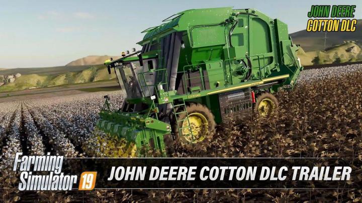 FS19 - John Deere Cotton Dlc Trailer V1