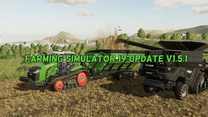 Farming Simulator19 - Update V1.5.1