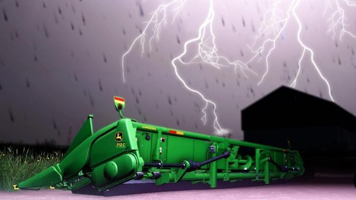 FS19 - John Deere Corn Headers V1.0