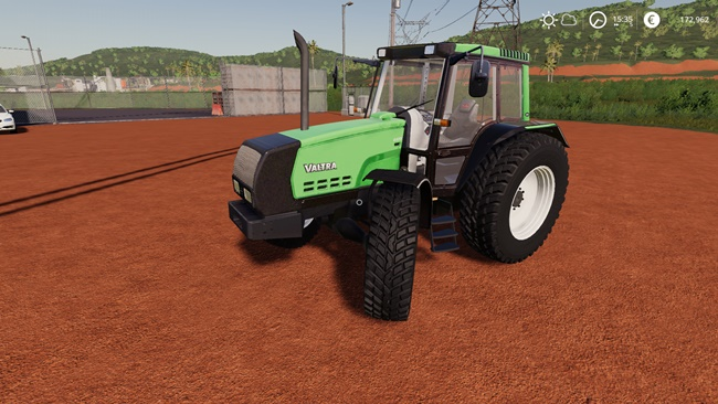 Valtra Valmet 6400 Edit Smoke Black V1