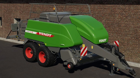 Fendt 1290 SXD Bale Machine V1
