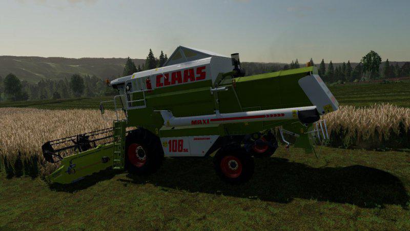 Claas Dominator 108 SL Maxi Harvester V1.1