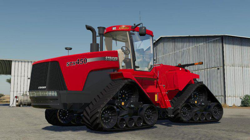 Case Steiger STX 450 Tractor V1