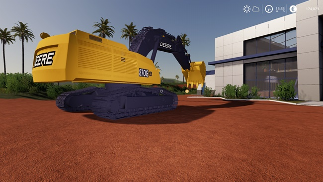 Deere Excavator 870G V1.6