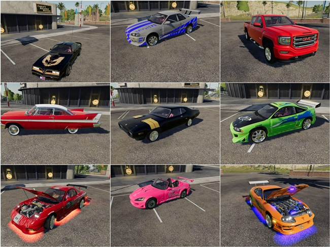 Cars Pack
