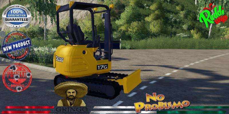 Deere Excavator 17G V1.5