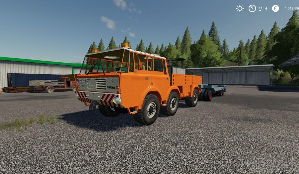 Tatra 813 TP 6x6 Truck V1