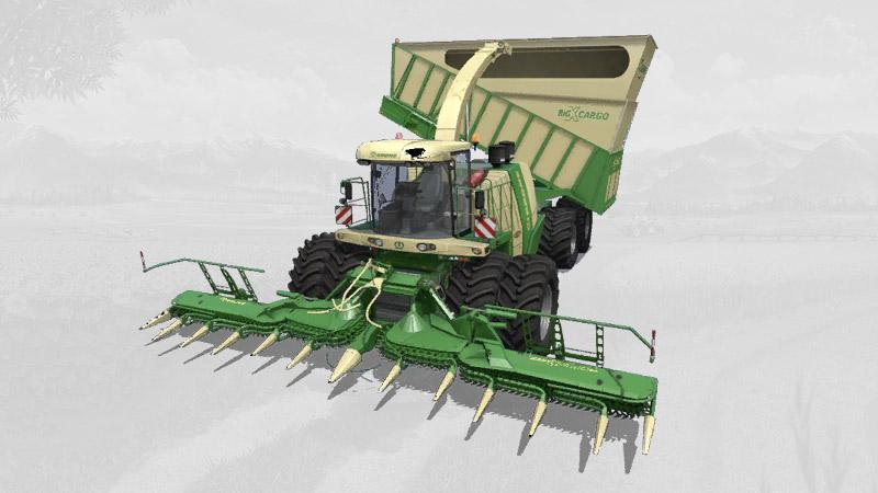Krone Big X 1180 Cargo V1.1.1