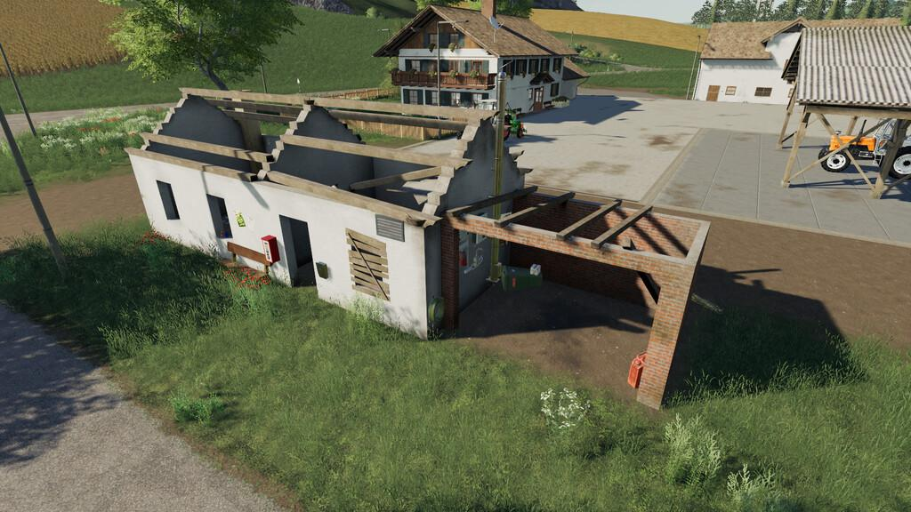 Placeable Ruins House Pack V1