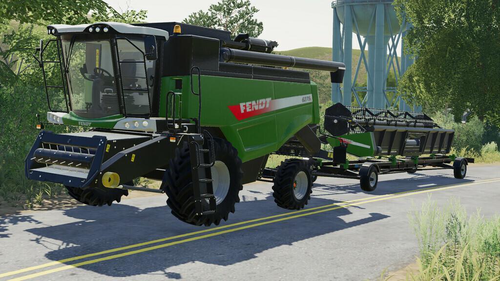 Fendt 6275L Harvester V1.1