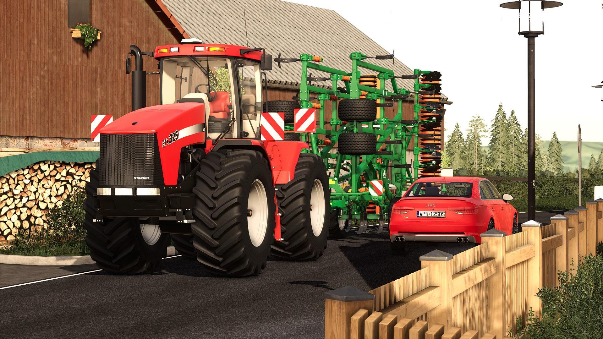 Case Ih StX Steiger Tractor V1.0.0.1