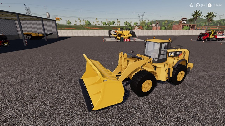 Coal Shovel for Cat 980K Loader V1.1
