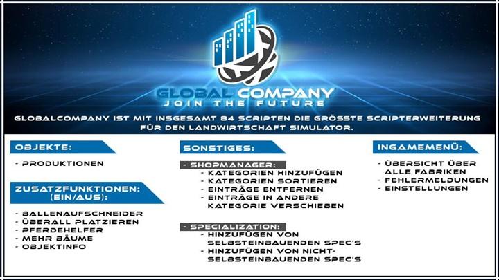 GlobalCompany V1.7