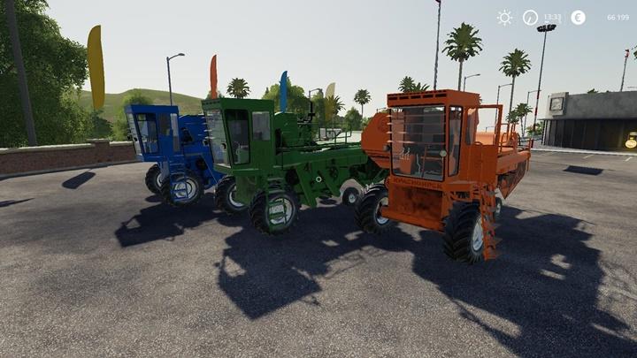 Yenisei 1200-1 Harvester V2