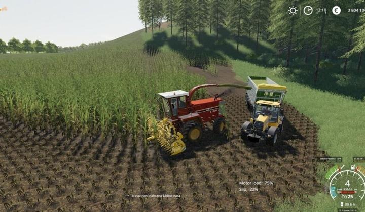 JCB Fastrac 185-65 Tractor V1