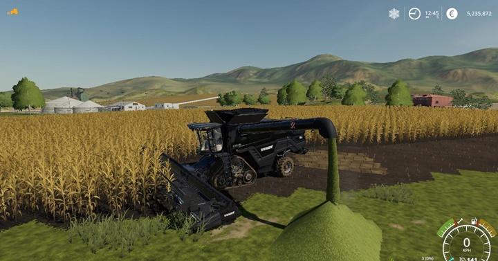 Agco Ideal9 Forage Harvester + Cutter V1