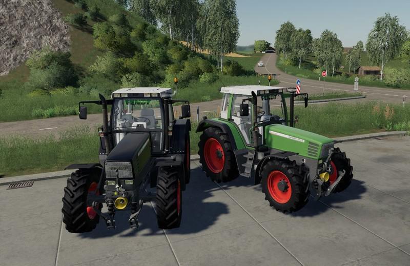 Fendt Favorit 500 Tractor V1