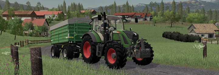 Fendt 870 KG Weight V1
