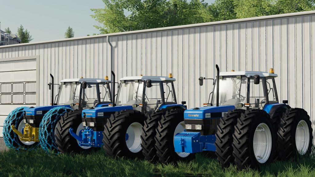 Country 1184-40 Tractor V1
